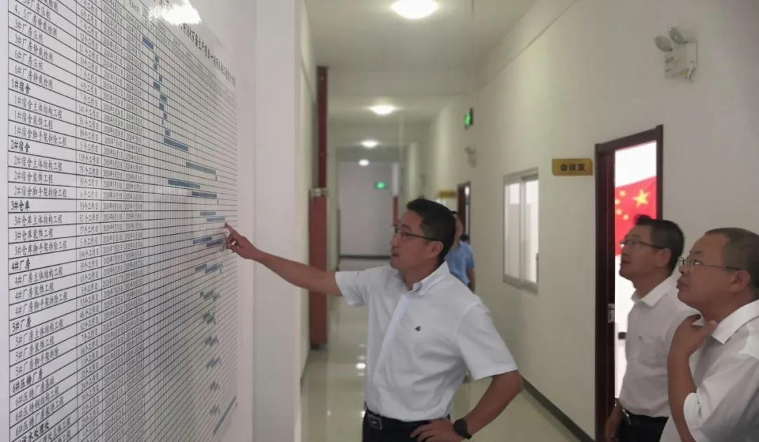 刘桂林调研考察中电泰日升马鞍山产业基地等项目
